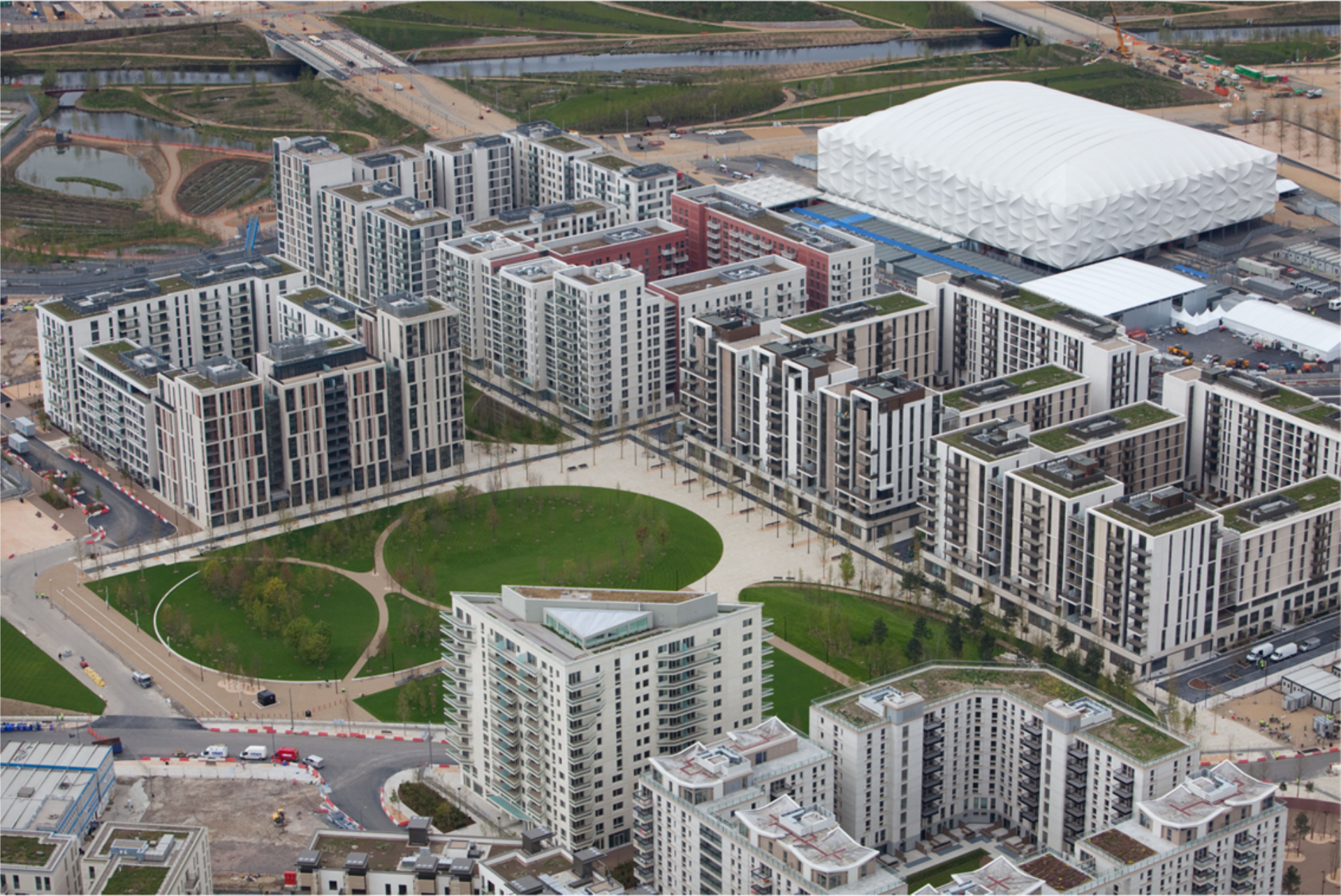 Olympic Park's Athlete's Village