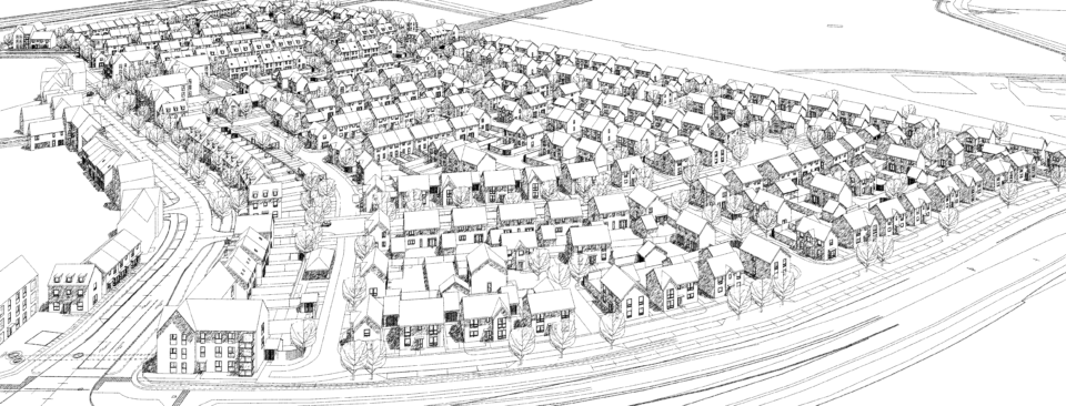 McBains secures planning approval for 381 homes on behalf of Bellway Homes