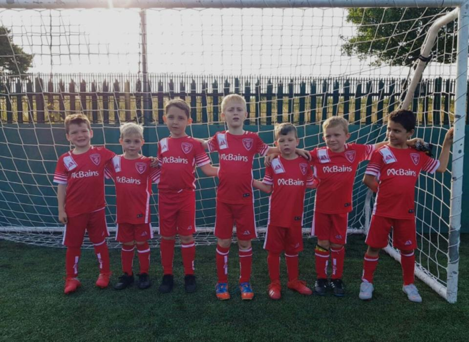 Gravesend Borough Under 6S 2019