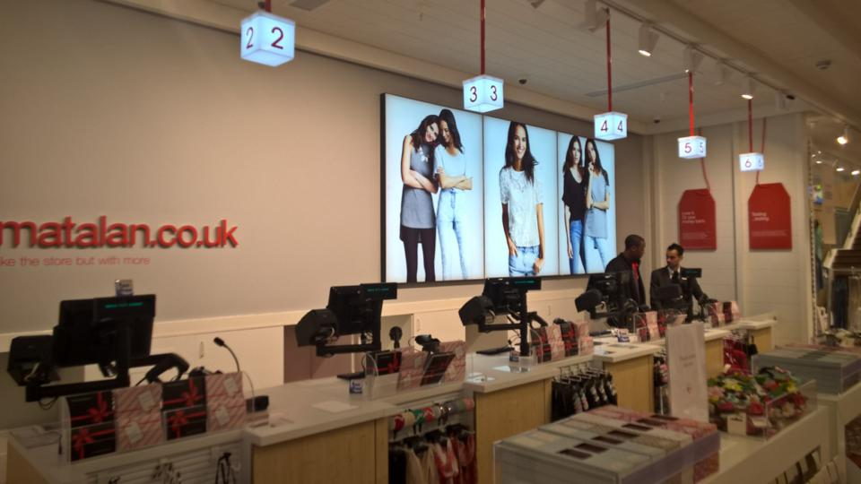 Matalan store on London's Oxford Street.